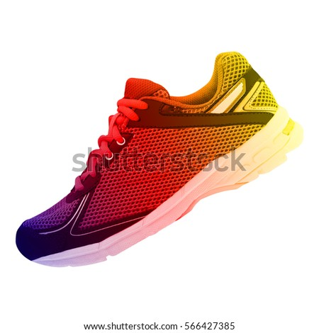 sneaker isolated on white