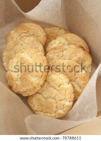 Snickerdoodle Cookies - stock photo