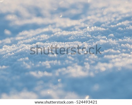 snow. background