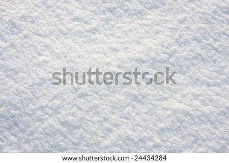 Snow, background of fresh, untouched snow. - stock photo