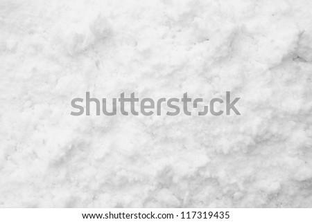 Snow background texture - stock photo