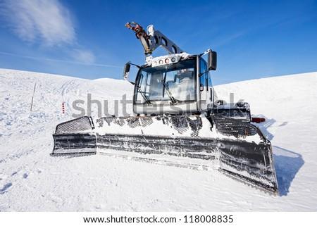 snow-cat - stock photo