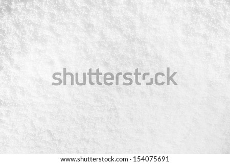 Snow clearly white background - stock photo