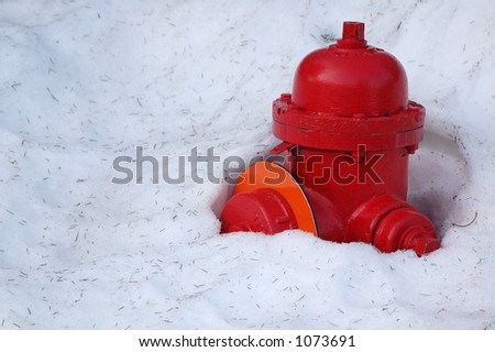 Snow Covered Fire Plug
