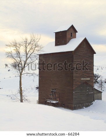 Snow Grain Storage