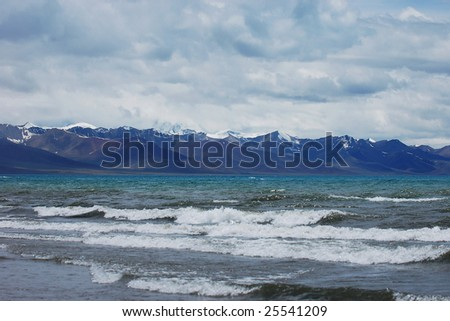 Snow Mountain and Sea