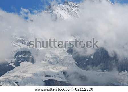 snow mountain in Swiss