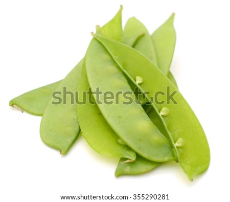 Snow peas of vegetable food