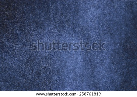 snow rain on a black background texture overlay - stock photo