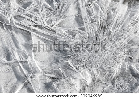 snow. Snow texture for the background. background of fresh snow. Winter background of shiny snow - stock photo