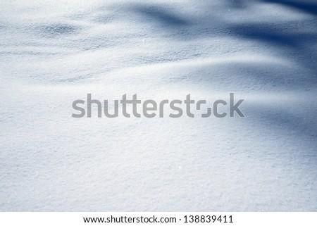 snow surface - stock photo
