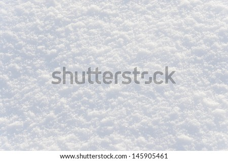 Snow Texture  - stock photo