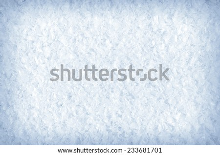 Snow texture outdoor closeup for design. - stock photo