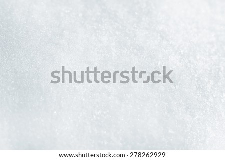 snow texture, winter background - stock photo