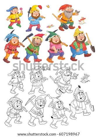 snow white and the seven dwarfs fairy tale pdf
