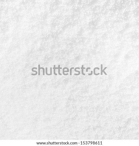 Snow white surface  - stock photo
