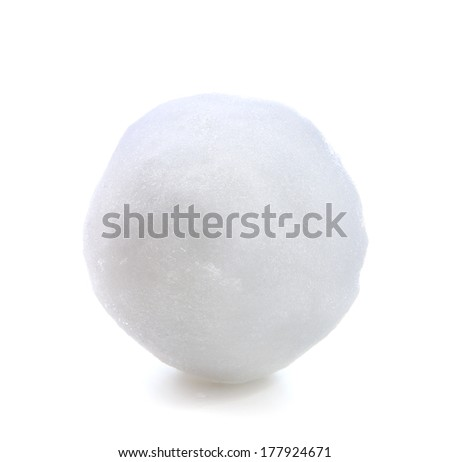 snowball - stock photo