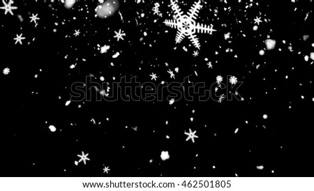 snowflake abstract use for background