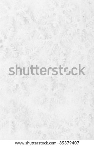 Snowflake decoration, winter holiday background. - stock photo
