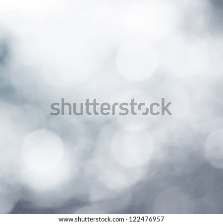 Snowflakes in an abstract background