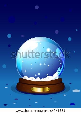Snowglobe - stock photo