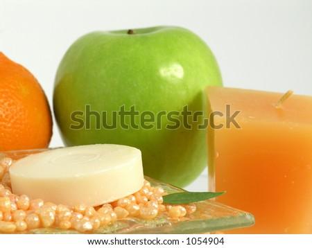 soap - stock photo