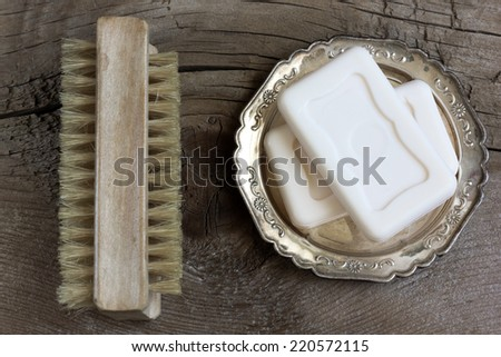 Soap bar - stock photo