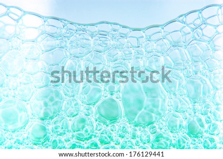 soap bubble suds texture - stock photo