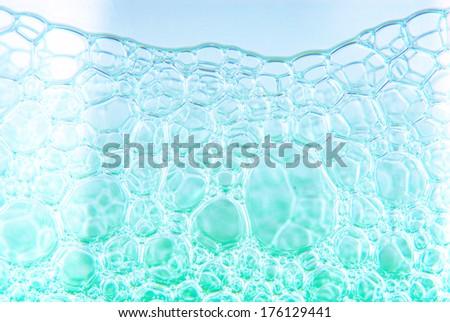 soap bubble suds texture - stock photo