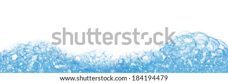 soap foam - stock photo