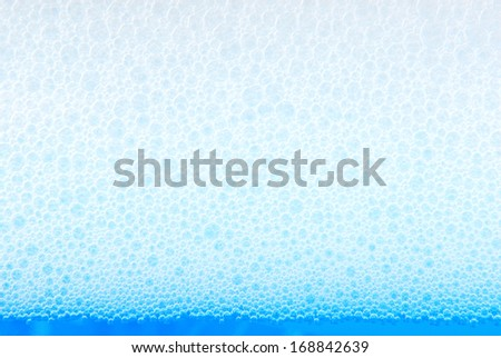 soap foam background - stock photo