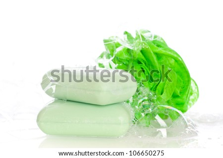 soap set - stock photo
