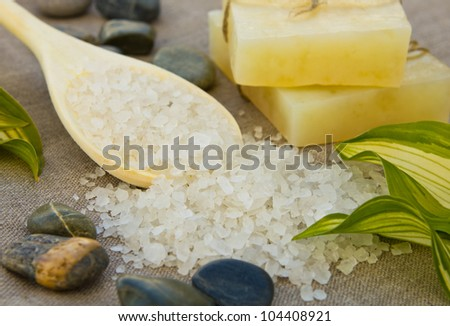 Soap with sea-salt