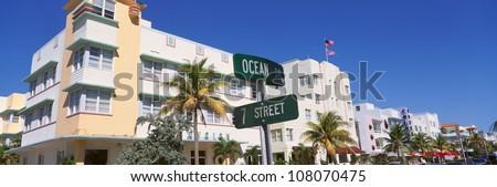 SOBE south beach, Miami Beach, Florida - stock photo