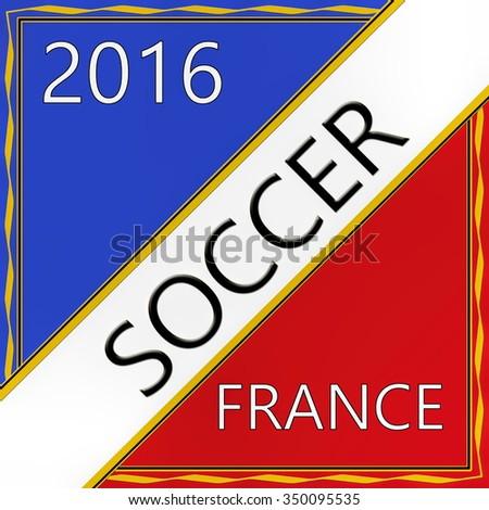 Soccer 2016 - stock photo