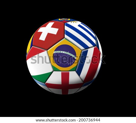 soccer artwork championship brazil stock illustration 200736944