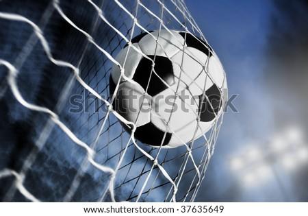 soccer ball - stock photo
