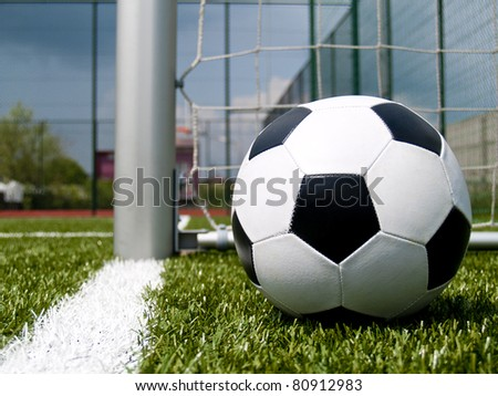 Soccer ball 2 - stock photo