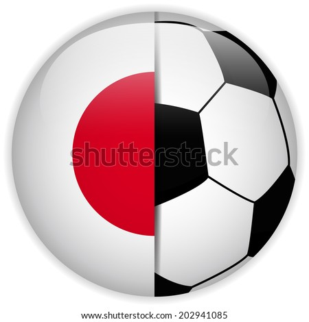 Soccer Ball with Country Flag