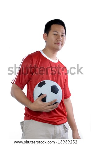 Soccer dude - stock photo