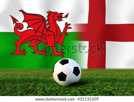 Soccer Euro 2016 ( Football )  England  and Welsh.England  and Welsh.England.Welsh