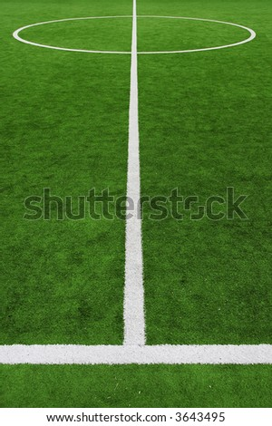 soccer field, center and sideline
