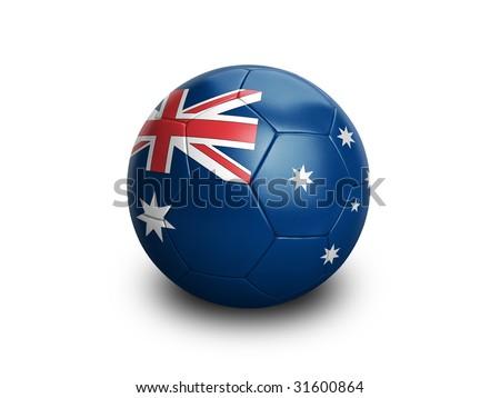 soccer Football Australia - stock photo