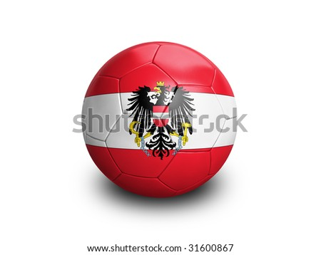 Soccer Football Austria - stock photo