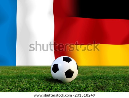 Soccer 2014 ( Football ) France and German