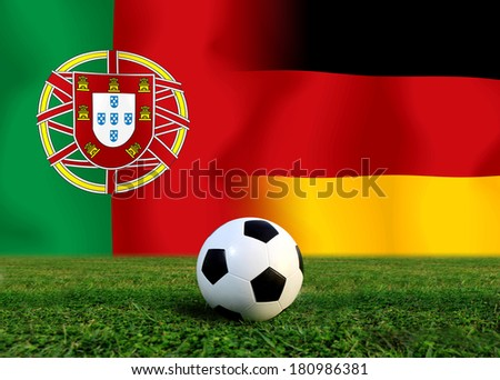 Soccer 2014 ( Football ) German and Portuguese
