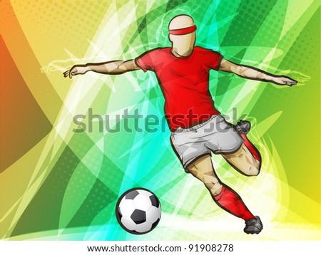 Soccer-futbol/Abstract Sports - stock photo