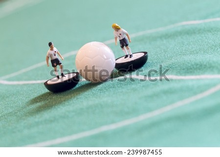 soccer Game - stock photo