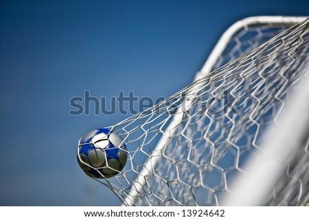 Soccer Goal - stock photo