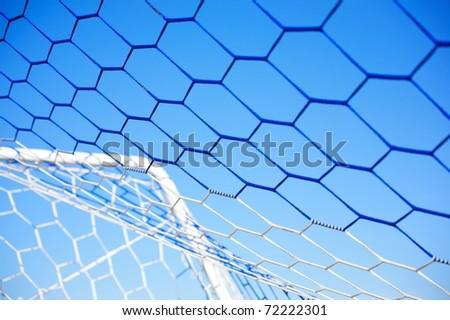 Soccer Net - stock photo